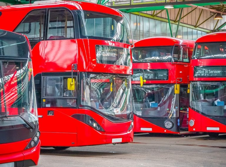 Laser scanning 17 bus depots in 5 weeks