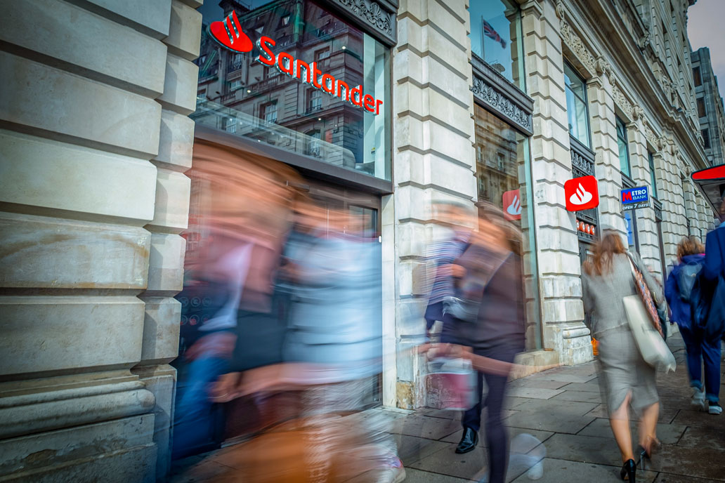 Surveys for Santander's national refurbishment programme