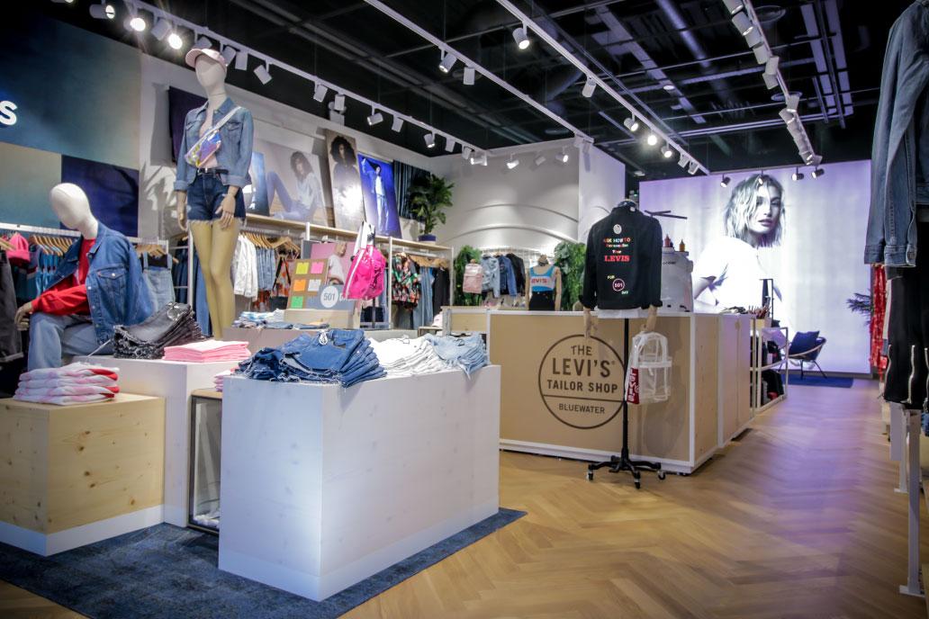 Levis first UK women's store