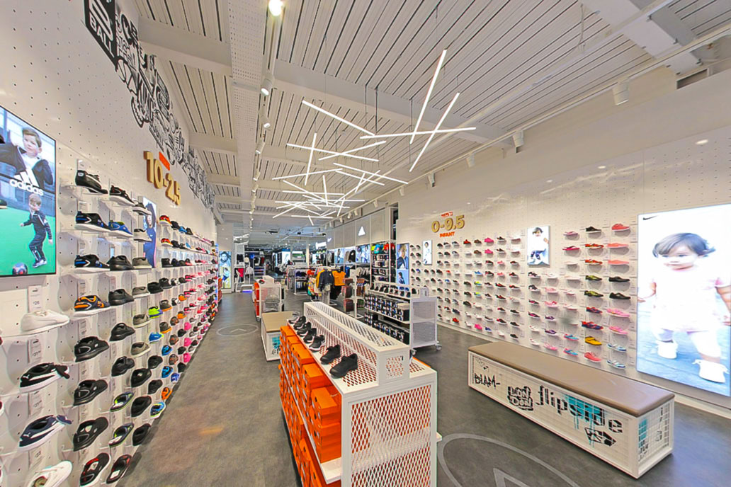 Sports Direct's flagship UK store