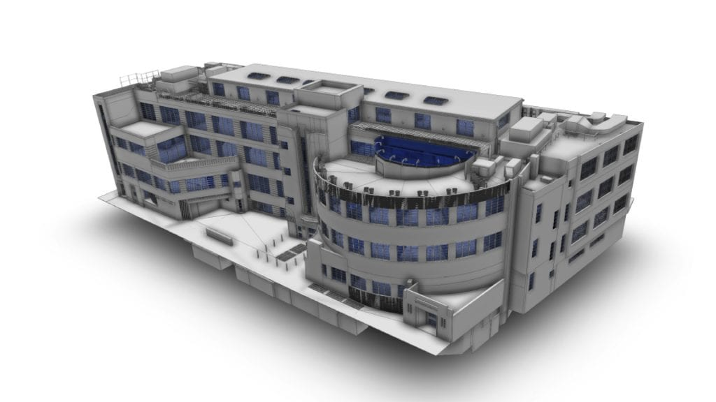 Listed building survey of Art Deco grade II Daimler HQ