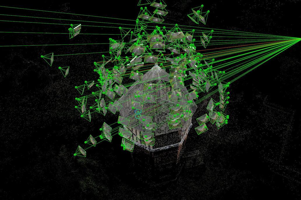 3D laser surveys and point cloud surveys