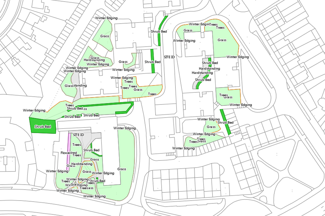 GIS for grounds maintenance
