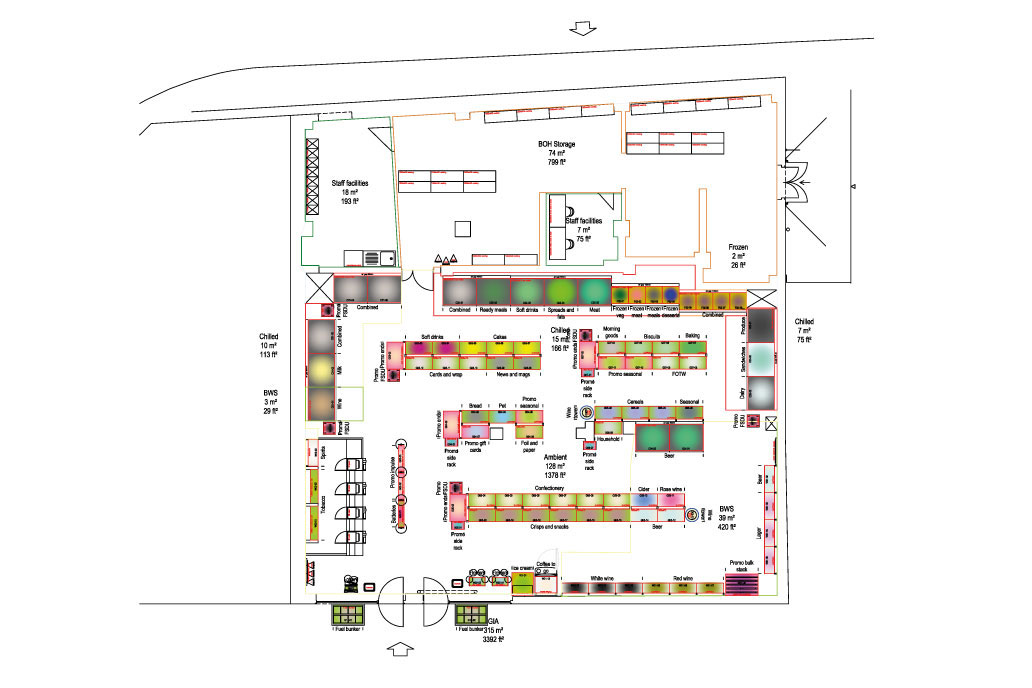 CADS store planning services