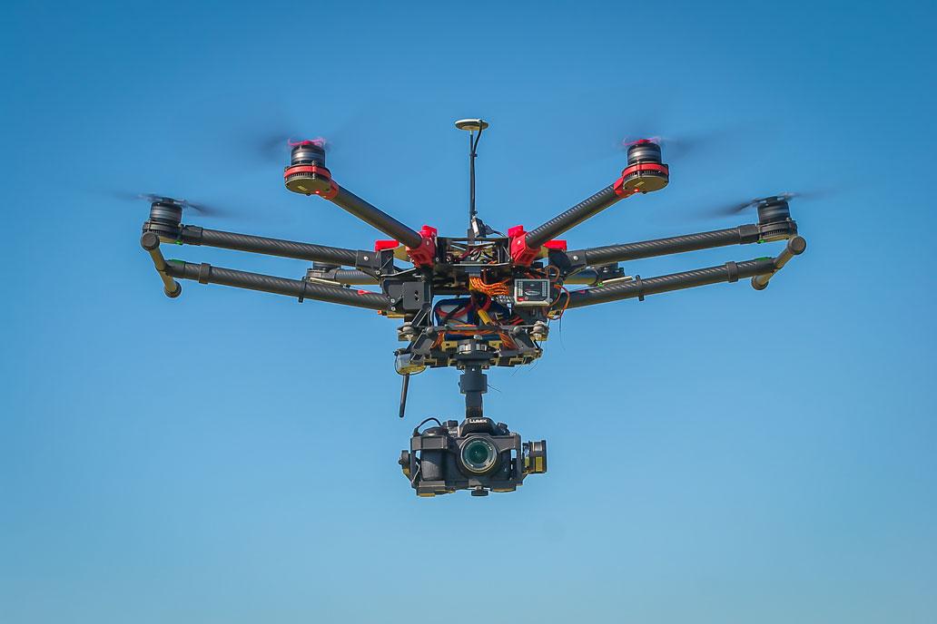 CADS topographic surveys UAV