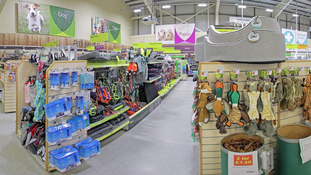 Pets at Home used StoreView to validate store selection